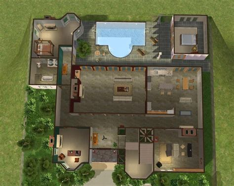the oc house floor plan mod the sims cohen house the o c