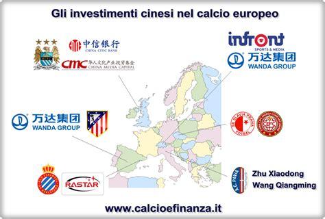 investimenti europea investimenti cinesi nel calcio europeo pechino snobba l