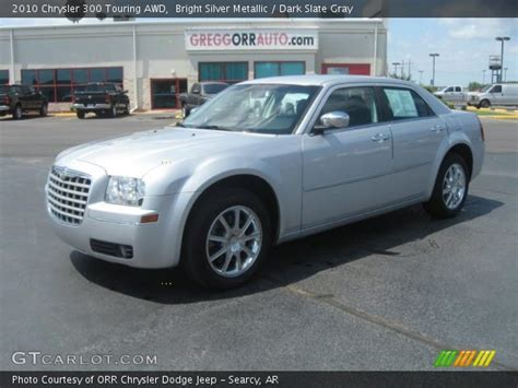 2010 Chrysler 300 Touring by Bright Silver Metallic 2010 Chrysler 300 Touring Awd
