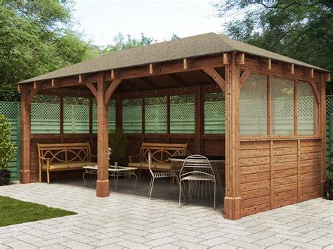 Tiki Hut Backyard Atlas Open Gazebo W6 0m X D3 2m Gazebos