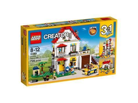 Lego Creator 31067 Modular Poolside Bad Box lego ideas 21309 nasa apollo saturn v and summer lego sets now available on lego