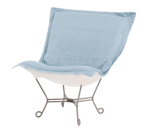 puff chair rocker scroll puff chair or rocker choose frame style color