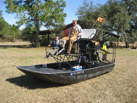 airboat build first built airboat pics southern airboat