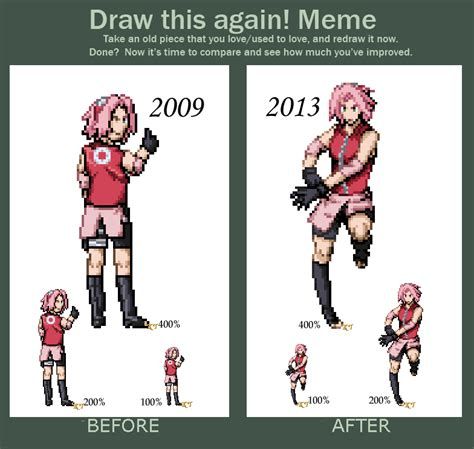 How To Draw Pixel Sprites draw this again sprite by shinyseabass on deviantart