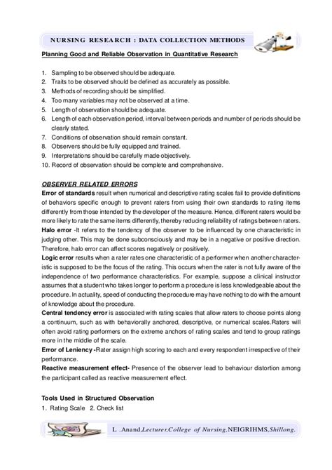 observational research paper writing my research paper use of the observational method