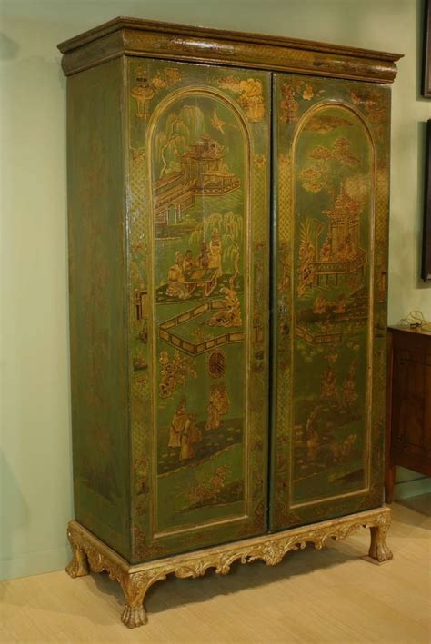 armoire english extraordinary english chinoiserie panelled armoire for