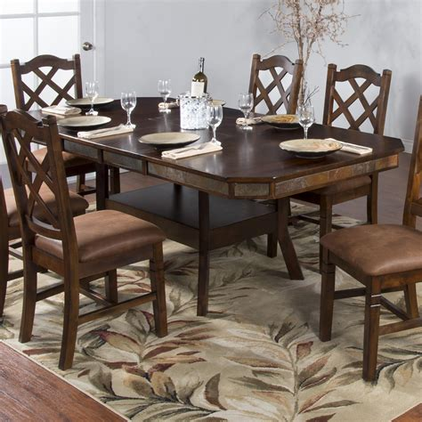 santa fe dining table designs santa fe adjustable height dining table w 2