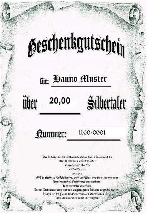 Vorlage Word Mittelalter Geschenkgutschein Geschenkgutschein Bild Nr 1 M000g