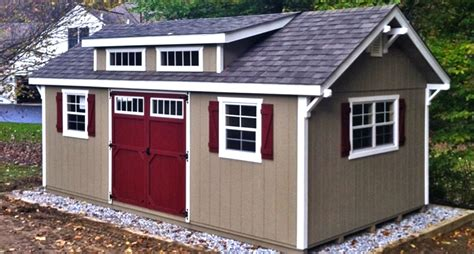 backyard storage house shed dormer shed roof dormer horizon structures
