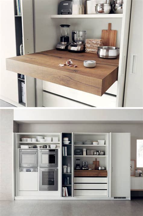 compact kitchen design ideas kitchen design idea pull out counters contemporist