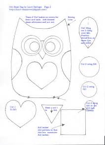 owl templates for sewing july 2012