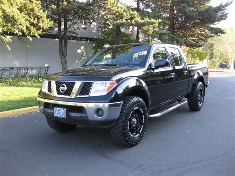 nissan 4x4 lifted 2007 nissan frontier se crew cab 4x4 lifted 1 owner