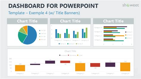 Dashboard Templates For Powerpoint Charts Diagrams For Powerpoint Pinterest Templates Powerpoint Dashboard Exles
