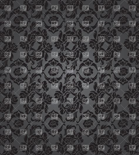 grey victorian pattern grey victorian wallpaper with floral pattern royalty free
