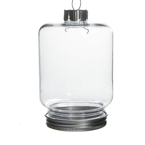 clear plastic light bulbs for crafts fillable clear plastic jar ornament christmas ornaments