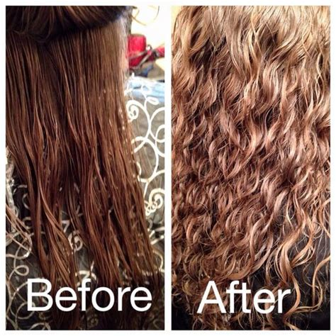 texture perms before and after beautytalkssalon before and after spiral perm
