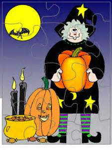 halloween printable jigsaw puzzles