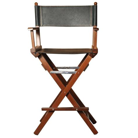 Leather Directors Chair by Black Leather Director S Chair For Sale At 1stdibs