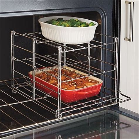 3 Tier Oven Rack by Real Simple 174 3 Tier Adjustable Oven Rack Home Garden