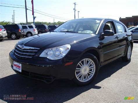 2007 Chrysler Sebring Sedan by 2007 Chrysler Sebring Touring Sedan In Brilliant Black