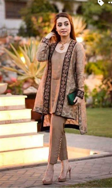 pakistani gown short shirt  trouser