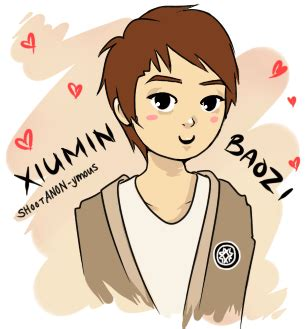 exo moving wallpaper exo m s xiumin animated gif by anante