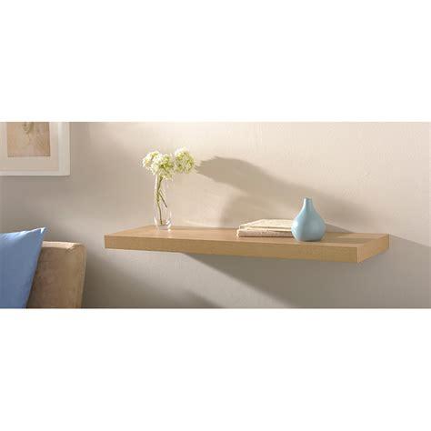 floating shelves 80cm home shelving b m