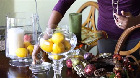 how to decorate your home with fruits and vegetables how to decorate with bowls of fake fruit candles