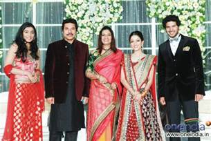 photos dulquar salman and amal sufi wedding reception pictures images 175402 filmibeat