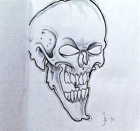 skull tattoo sketch by jocef on deviantart