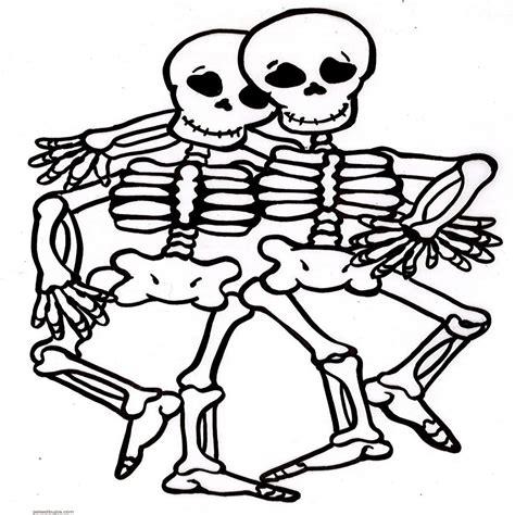 imagenes calaveras literarias para colorear dibujos de esqueletos de fiestas para colorear