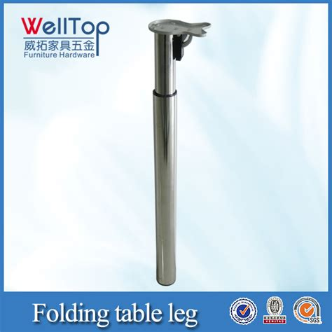 Adjustable Height Folding Table Legs Height Adjustable Folding Table Legs Lowes View Folding Table Legs Lowes Welltop Product