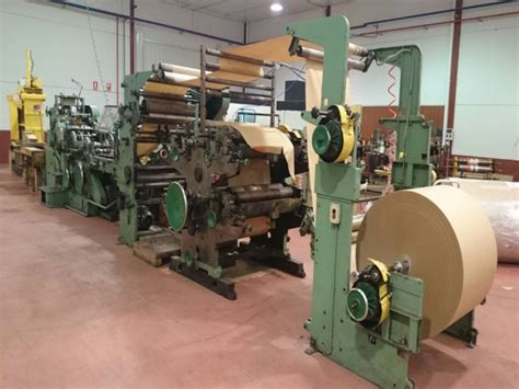 Paper Bag Machines - paper bag machine w h triumph 3a 4 colour