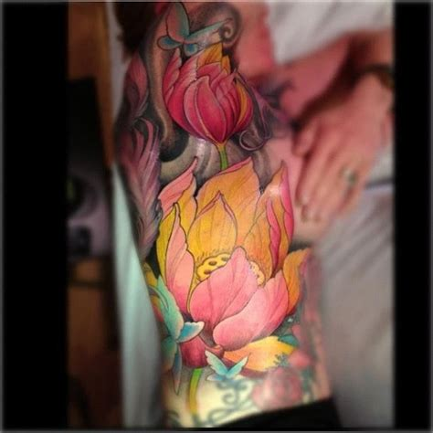 Lotus Tattoo Jeff Gogue | lotus flower tattoo by jeff gogue from off the map tattoo