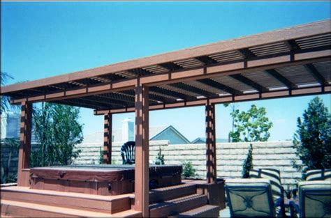 free standing patio cover designs plans