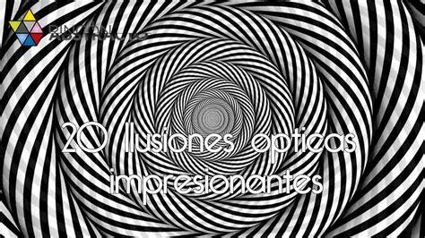 ilusiones opticas en fotos 20 ilusiones opticas impresionantes youtube