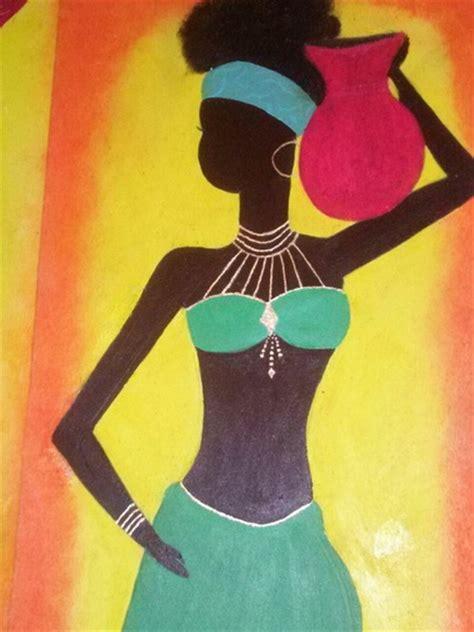 imagenes cuadros negras africanas cuadros negras africanas aguscreaciones elo7