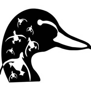 Home Interiors And Gifts Catalog just decals duck head white large in vehicle accessories