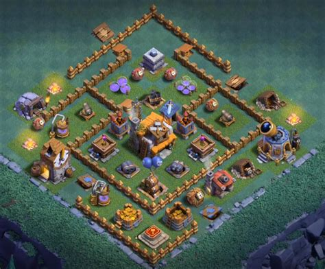 coc unique layout top 20 best builder hall 5 base new 3000 cups