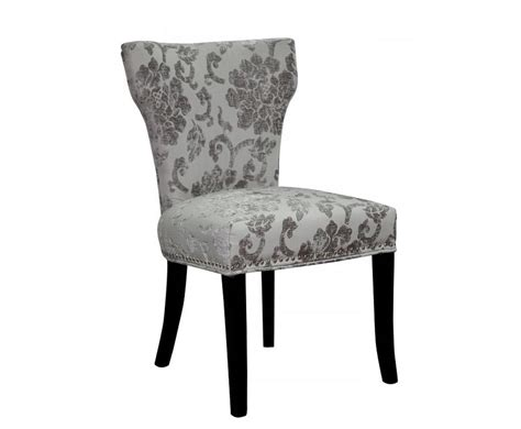 Baroque Dining Chairs Berkshire Mink Baroque Fabric Dining Chairs