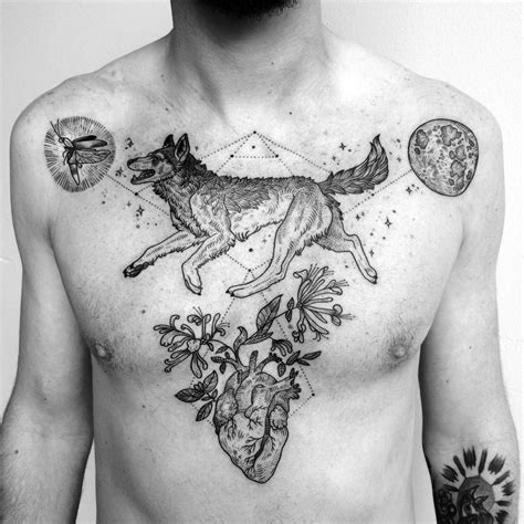 linework tattoo 10 artists creating powerful tattoos using only lines