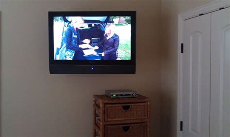 tv mounted on wall in bedroom tv s on wall unisen media llc