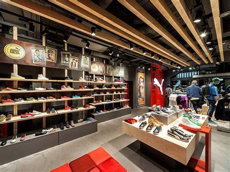 design shop puma shop interior design in amsterdam