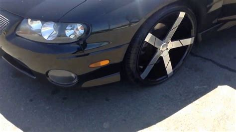 Pontiac Gto Rims by 2004 Pontiac Gto Rolling Out On 20 Quot Kronik Ghost Rims