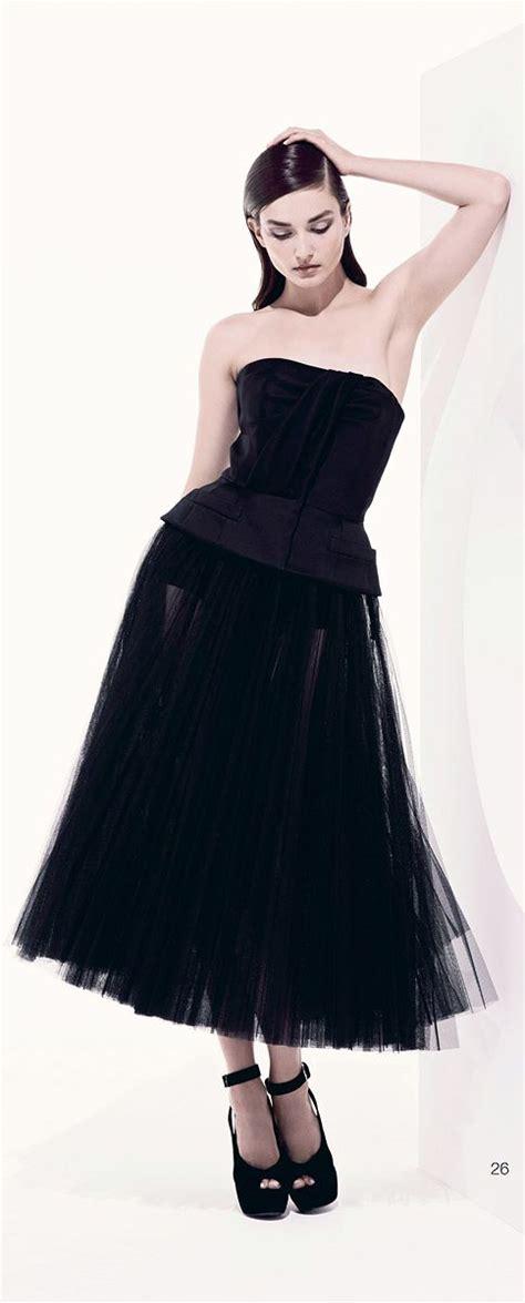 christian dior resort  perfect  black dress
