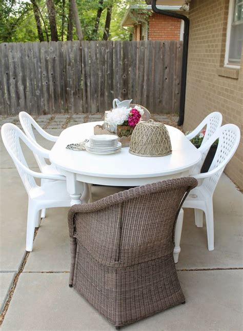 turn couch into outdoor furniture thrifted pottery barn table how to turn indoor furniture
