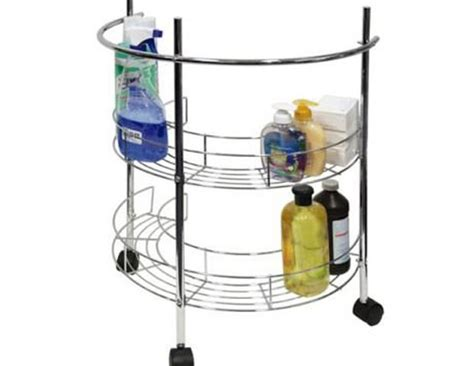 Pedestal Sink Storage Rack by Tidy Organizer Storage And Organizers For The Home