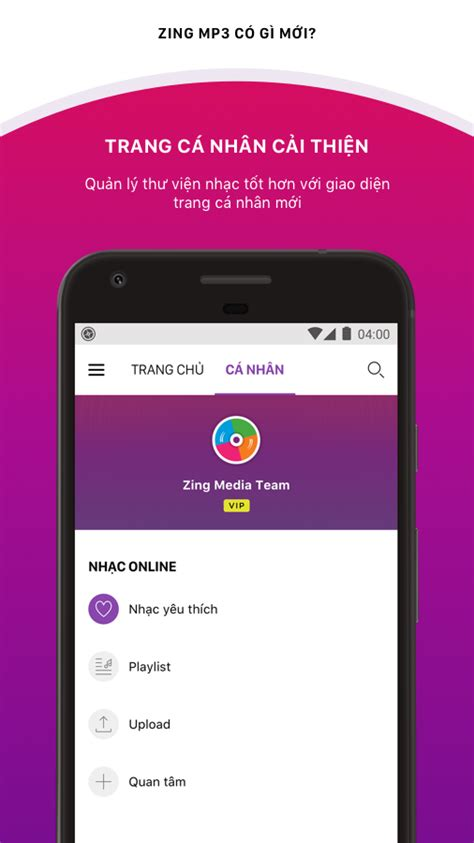 zing mp3me zing mp3 4 2 0 apk download android entertainment apps