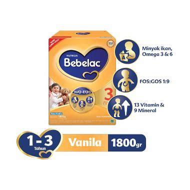 Bebelac 3 Vanila jual formula bebelac 1 3 4 harga promo