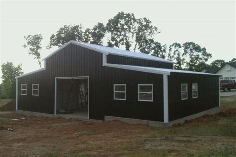 Foundation Ideas For Sheds Pole Barn Prices In Missouri Pole Barn House Kits Missouri